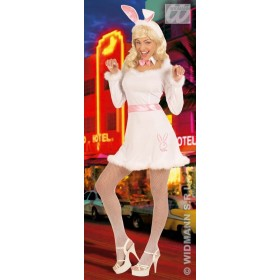 Bunny Dress Adult Fancy Dress Costume Ladies (Animals)