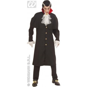 Count Dracula Heavy Fabric Fancy Dress Costume Mens (Halloween)