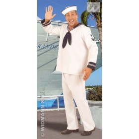Sailor Costume Adult Heavy Fabric Fancy Dress Costume (Sailor)