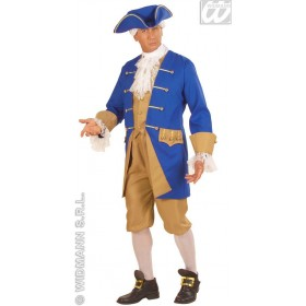 Heavy Fabric Colonial Man Fancy Dress Costume Mens