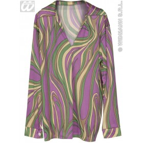 Funky Fever Shirt 3 Cols Fancy Dress Costume