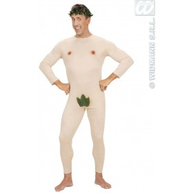 Adam Jumpsuit & Headpiece Fancy Dress Costume Mens