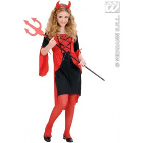 Devil Girlchild Fancy Dress Costume Girls (Halloween)