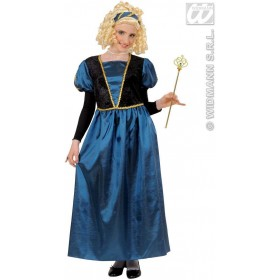 Princess Dress Child Fancy Dress Costume Girls (Royalty)