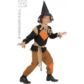 Scarecrow Child Fancy Dress Costume Boys