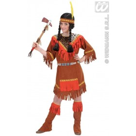 Native American Girl Child 128Cm Fancy Dress Costume Girls (Cowboys/Native Americans)