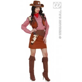Cowgirl Fancy Dress Costume Ladies (Cowboys/Indians)