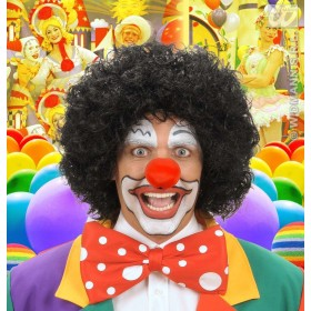 Clown Wig - Black - Fancy Dress (Clowns)