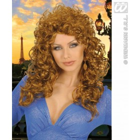 Attractive Wig - Brown - Fancy Dress