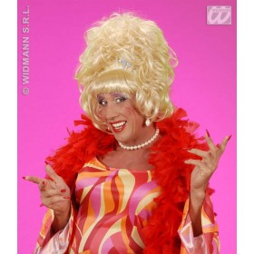 Drag Queen Wig Blonde - Fancy Dress (Royalty)