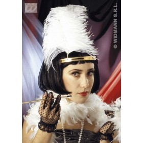 Charleston Wig In Polybag - Fancy Dress (1920S)
