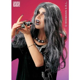 Witch Wig Grey Crudelia - Fancy Dress (Halloween)