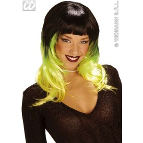 Tricolour Shirley Wig - Fancy Dress