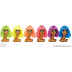 Unisex Clown Wig Polybag 6Cols - Fancy Dress (Clowns)