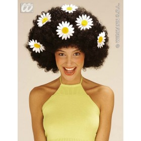 Oversized Daisy Wig 3 Colours - Fancy Dress