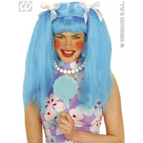 Dolly Wig Blue/Pink/Green - Fancy Dress