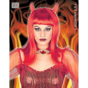 Devilicia Wig - Fancy Dress (Halloween)