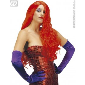 Jessica Wig Red - Fancy Dress
