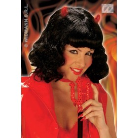 Diabolique Wig W/Light Boxed - Fancy Dress