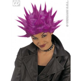 Neon Tekno Wig 6Cols - Fancy Dress