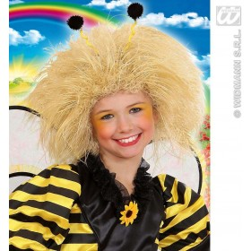 Child Blonde Character Wig In Polybag - Fancy Dress