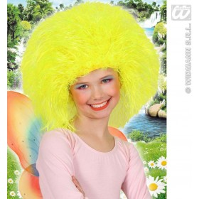 Child Neon Fairy Wig - Yellow - Fancy Dress (Fairy Tales)