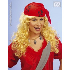 Pirate Wench Wig In Polybag - Fancy Dress (Pirates)