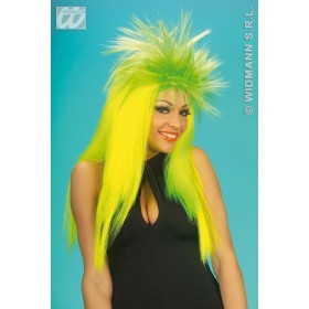 Neon Punkadelic Wig In Polybag - Fancy Dress