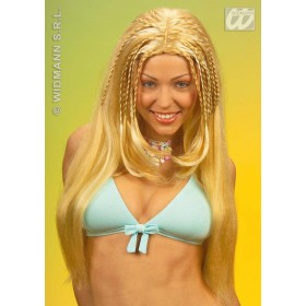 Beach Girl Wig 3Cols - Fancy Dress