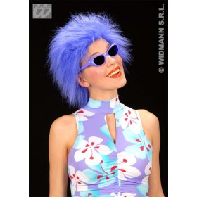 Plush Wig Neon 3 Cols - Fancy Dress