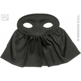 Eyemask Veiled Black - Fancy Dress