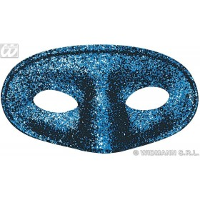 Glitter Acapulco Mask Red/Blue/Green - Fancy Dress