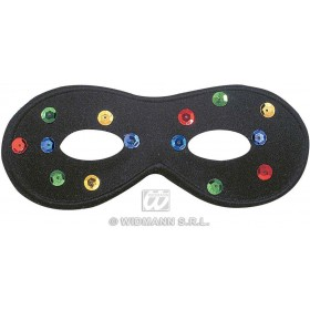 Firefly Eyemask Black - Fancy Dress