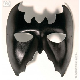 Bat Eyemask Leatherlook - Fancy Dress