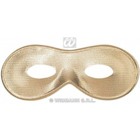 Fiesta Eyemask Gold/Silver - Fancy Dress