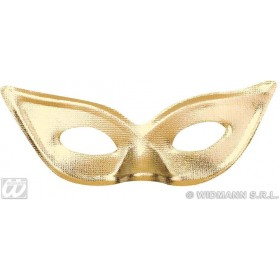 Papillon Eyemask Gold/Silver - Fancy Dress