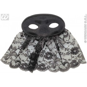 Veiled Carmen Eyemask - Fancy Dress