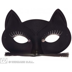 Black Cat Eyemask - Fancy Dress