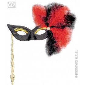 Versailles Eyemask On Stick - Fancy Dress