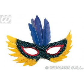 Feather Eyemask 4Styles - Fancy Dress