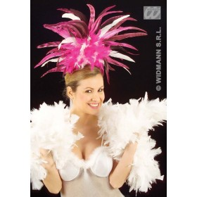 Copacabana Feather Headband - Fancy Dress