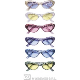Glitter Glasses Cat Eye - Fancy Dress