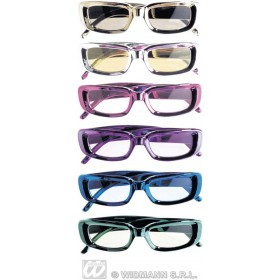 Metallic Unisex Glasses - Fancy Dress