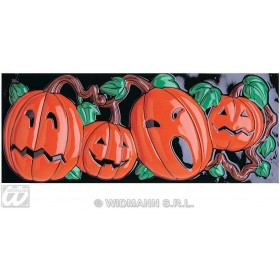 Gid 3D Pumpkin Decoration Horizontal - Fancy Dress (Halloween)