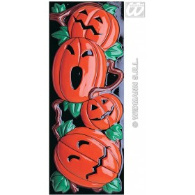 Gid 3D Pumpkin Decoration Vertical - Fancy Dress (Halloween)