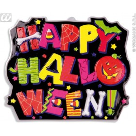 Happy Halloween Signs 3D Neon - Fancy Dress (Halloween)