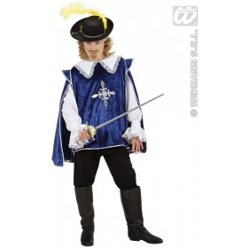 Blue Musketeer Fancy Dress Costume Boys (Musketeers)
