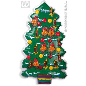 3D Christmas Tree Dec 100Cm - Fancy Dress (Christmas)
