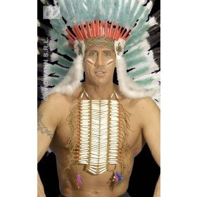 Native Indian Warrior Breastplate - Fancy Dress (Cowboys/Indians)