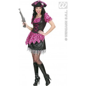 Fancy Buccaneer Fancy Dress Costume Ladies (Pirates)